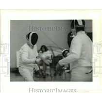 1995 Press Photo Crescent City Open Fencing Tournament - Earl Robinson
