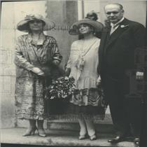Press Photo William V. Hodges Wedding