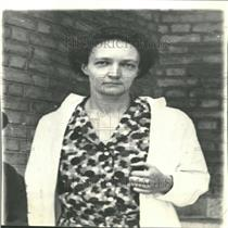 1934 Press Photo Irène Joliot-Curie Scientist