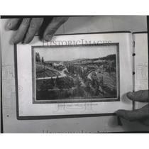 1901 Press Photo Hangman Creek, a tributary of the Spokane - spa48423
