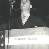 1936 Press Photo Harry Bridges Seamen West Coast Leader