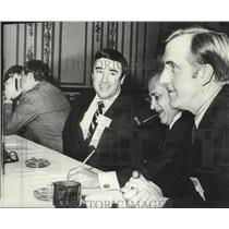 1971 Press Photo Governor Robert M. Scott, North Carolina - spa54794