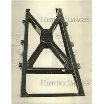 1929 Press Photo X-Cross Member of New Cord Front Drive Chassis Frame