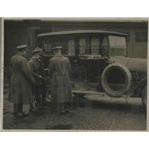 1923 Press Photo General View of Motor Car's Side Which is Battered - nef67303