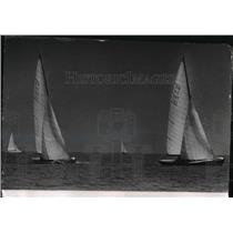 1963 Press Photo John Stephens' Calypso and three others race off South Shore