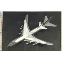 1966 Press Photo Pan American to Purchase 25 New Boeing 747 Jet Transports
