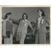 1947 Press Photo Women attended the Flying Farmers' meeting - spa69154
