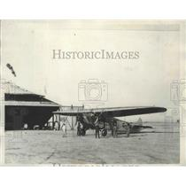 1932 Press Photo Charles Breasted Tri-Motored Plane English Fokker - nef66555