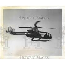 1957 Press Photo McDonnell XV-I World's first Successful Convertiplane