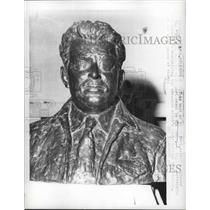 1961 Press Photo Bust of William Post - nef65971