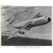 1965 Press Photo U.S. Air Force Douglas C-54 Skymaster - nef68305