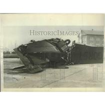 1929 Press Photo Wreckage of Gorst Air Transport 8-Passenger Plane Went Down