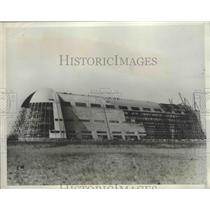 1932 Press Photo Giant Hangar at Sunnyvdale Calif. nearing completion
