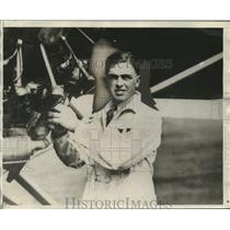 1929 Press Photo Robert Walker Co-Pilot of Seattle Plane - neo12131
