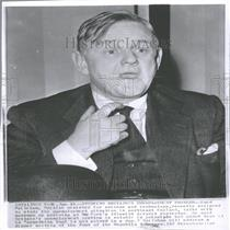 1963 Press Photo Lord Hailshman British North Science