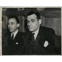 1938 Press Photo Communist Simon W. Gerson - neny09834