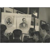 1931 Press Photo Chicago Historical society Ogden Club