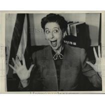 1938 Press Photo Fannie Brice Gets Divorces Billy Rose, My Man, Los Angeles, CA