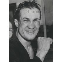 1941 Press Photo Boxing-Fritzie Zivic after his welterweight title victory
