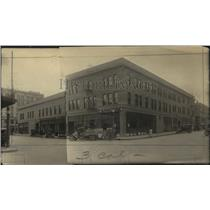 1928 Press Photo Merrian Building at SE corner of !st and Wall, Spokane, Wash.