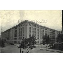 1918 Press Photo United States Department of Interior Department Building
