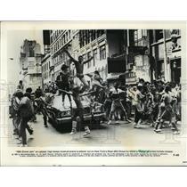 1980 Press Photo 46th Stree Jam scene in the movie, Fame. - spp09946