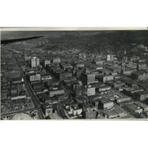 1928 Press Photo Aerial View of Spokane, Washington - spx18075