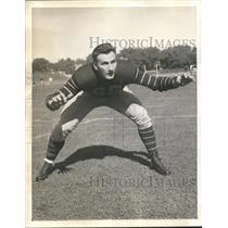 1939 Press Photo Donald Herring, Tackle, Princeton University - sbs06012