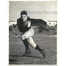 1936 Press Photo Ed Nowogroski, Fullback, University of Washington - sbs06072