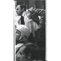 1974 Press Photo Spokane Flyers hockey coach, Tom Hodges - sps05402