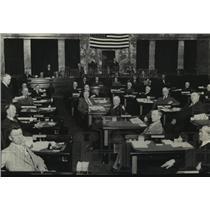 1929 Press Photo View Inside Washington State's Legislature - spx18240