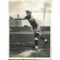 1929 Press Photo John Murphy, Fordham University, joins New York Giants