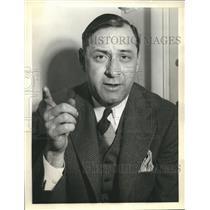 1938 Press Photo Fritz Crisler leaves Princeton to coach at Michigan University