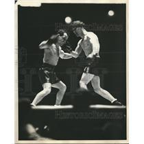 1930 Press Photo Midget Wolgast defends flyweight title against Frankie Genaro