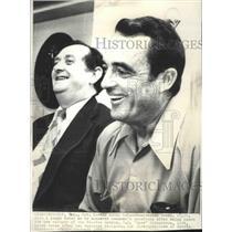 1973 Press Photo Houston Astros baseball team's H.R. Richardson & Preston Gomez