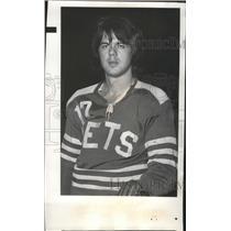 1971 Press Photo Spokane Jets hockey player, Brian Harper - sps05753