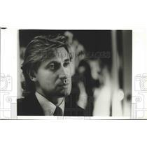 1993 Press Photo Los Angeles Kings hockey player, Wayne Gretsky - sps05952