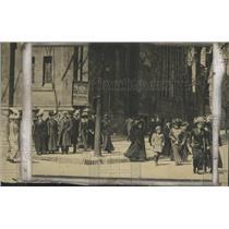 1911 Press Photo Easter Sunday Parade in Milawukee - mjx28975
