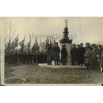 1926 Press Photo New York John B McKee at Central Park Mall Armistice Day NYC