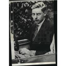 1930 Press Photo Prince Nicholas, member of regency of King Michael of Romania