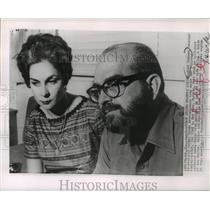 1960 Press Photo Raul Chibas Former Cuban Revolutionary Army Major - mja64280