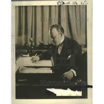 1926 Press Photo Editor James R. Quirk of Photoplay Magazine - nef67492
