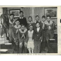 1931 Press Photo Boy Scout Members - nef67957