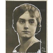 1927 Press Photo Eva Eddy, beauty contest entrant, Baldwin-Wallace College