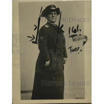 1918 Press Photo Mrs Josephus Daniels Wife of the Secretary of Navy - neo10445