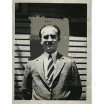 1935 Press Photo Harry F. Speer, Druggist - neo10697