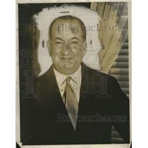 1930 Press Photo J.L. Tejadda President of Bolivia  - neo11741