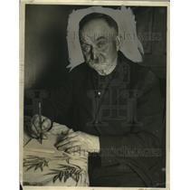 1927 Press Photo John Martin of Union Grove, Wisconsin - neo13194