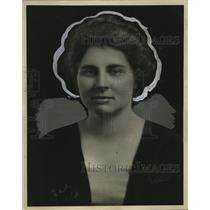 1922 Press Photo Mrs Frank Putnam of Milwaukee, Wisconsin - neo13201