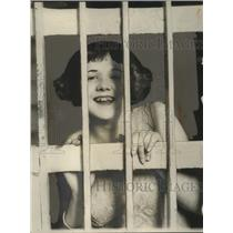 1925 Press Photo Renee Larondeau, Actress in Los Angeles County Jail - neo13288